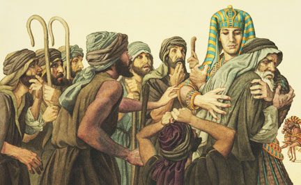 joseph-with-brothers-in-egypt